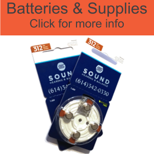 batteries, supplies, and other hearing accesories