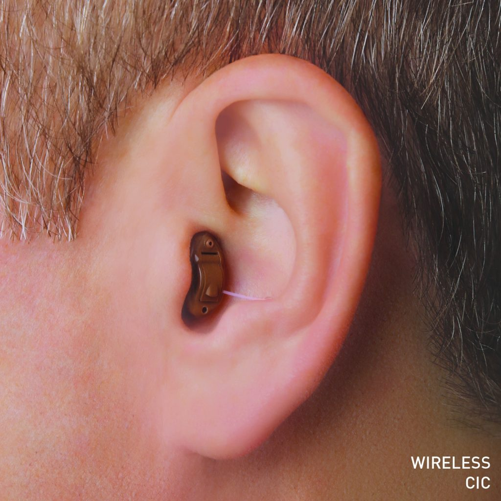 Completely-In-Canal (CIC) hearing aid